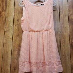 Forever 21 large L peach dress